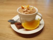 Schoko-Orangen-Creme - Rezept