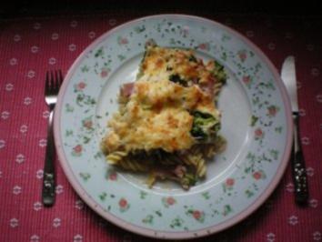 Rezept: Nudel-Broccoli-Auflauf