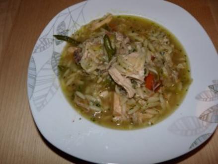 Hühnersuppe Frühlingsfrisch - Rezept