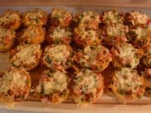 Spagetti-Muffins - Rezept