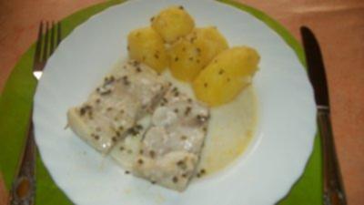 Alaska- Seelachs mit Schnttlauchkartoffel - Rezept