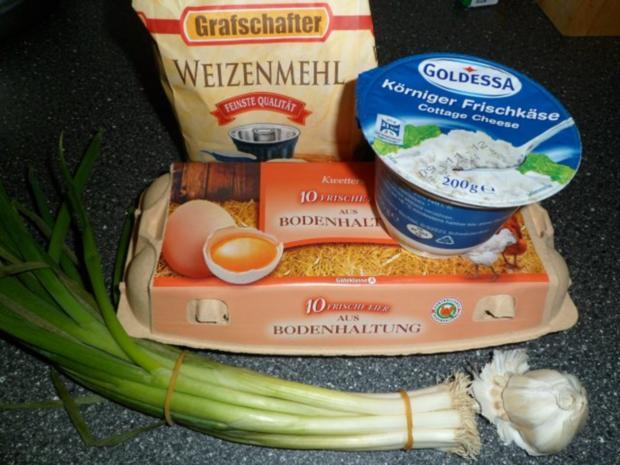 Hüttenkäse Bratlinge - Rezept - Bild Nr. 2