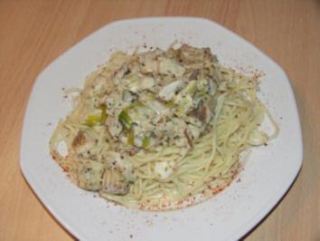 "Lachs - Spaghetti "" Provencale"" - Rezept"