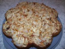 Honig-Apfelkuchen - Rezept