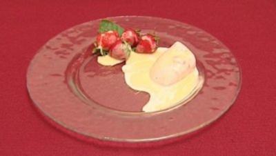 Erdbeer-Eis mit Mostrich (Arved Birnbaum) - Rezept