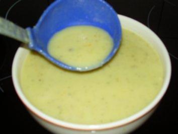 Zucchini Suppe - Rezept
