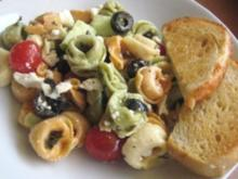 "Pasta Salat ""Greek Style"" - Rezept"