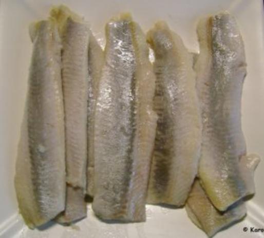 Fisch: Matjes Dill Töpfchen mit roten Zwiebeln - Rezept - Bild Nr. 5