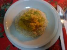 Zwergi's Kabeljau - Apfel - Curry - Reis - Rezept