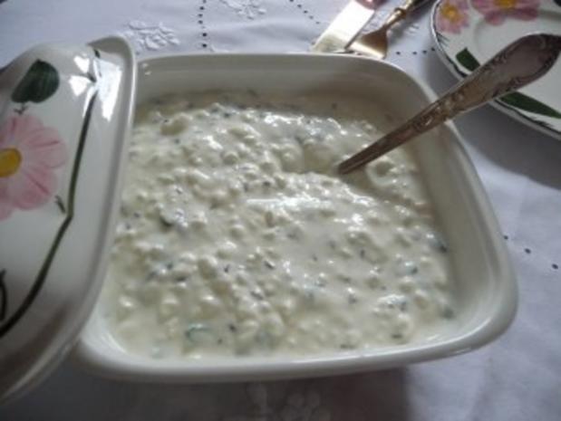 Schmalhans-Küchenmeister : Kartoffeln und Quark - Rezept