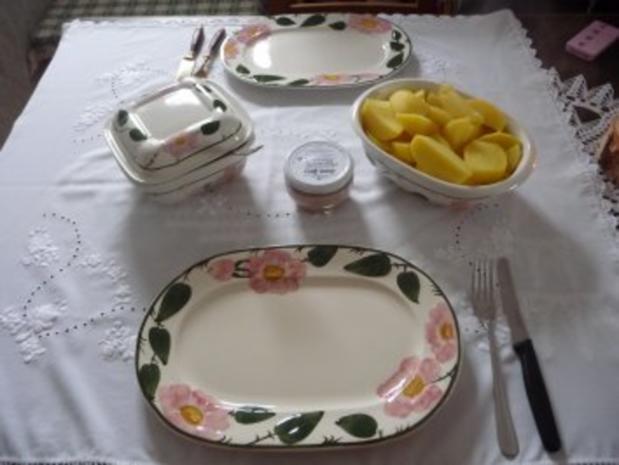 Schmalhans-Küchenmeister : Kartoffeln und Quark - Rezept - Bild Nr. 3