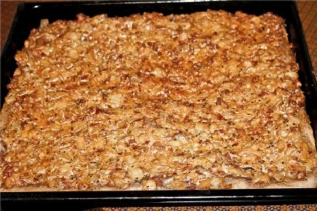 Speck-Zwiebel-Kuchen - Rezept - Bild Nr. 2