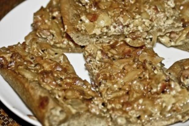 Speck-Zwiebel-Kuchen - Rezept