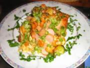 Bunter Gemüse - Nudelauflauf - Konfetti - Rezept