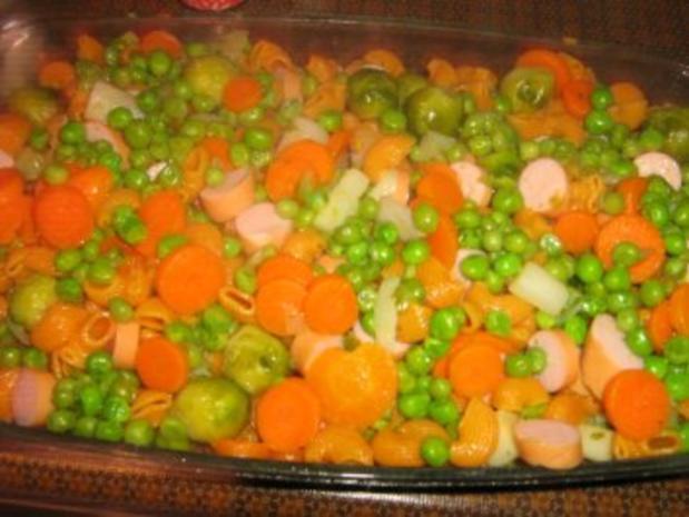 Bunter Gemüse - Nudelauflauf - Konfetti - Rezept - Bild Nr. 4