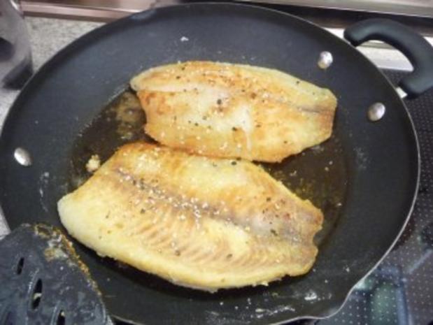 Fisch : Tilapia mit Bratkartoffeln - Rezept - Bild Nr. 6