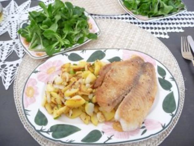 Fisch : Tilapia mit Bratkartoffeln - Rezept - Bild Nr. 2