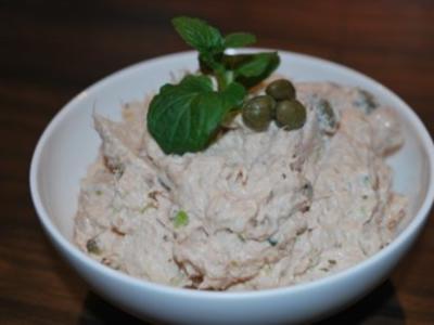 Thunfisch-Creme mit Minze - Rezept
