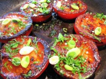 Tomaten aus der Bratpfanne ... - Rezept