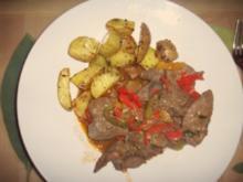 Kartoffelspalten Pikant mit Kräutern - Rezept