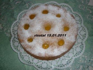 Pfirsichkuchen - Rezept