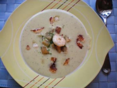 Zuccini-Kartoffelcreme-Suppe - Rezept