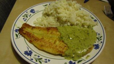 Pangasius mit Pesto-Sauce - Rezept