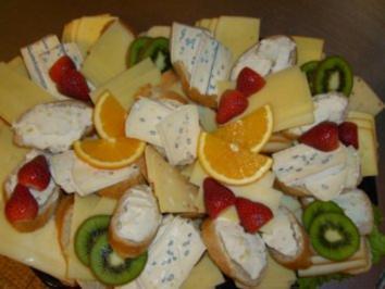 Kleine Käsehappen - Rezept