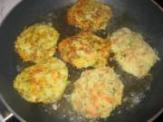 Gemüse-Bratlinge - Rezept