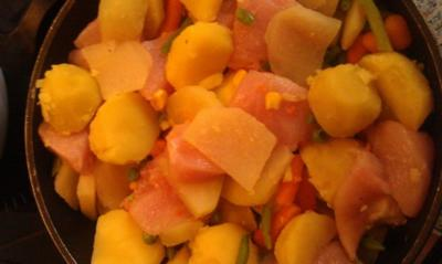 Rezept: Kartoffel-Kohlrabi-Auflauf