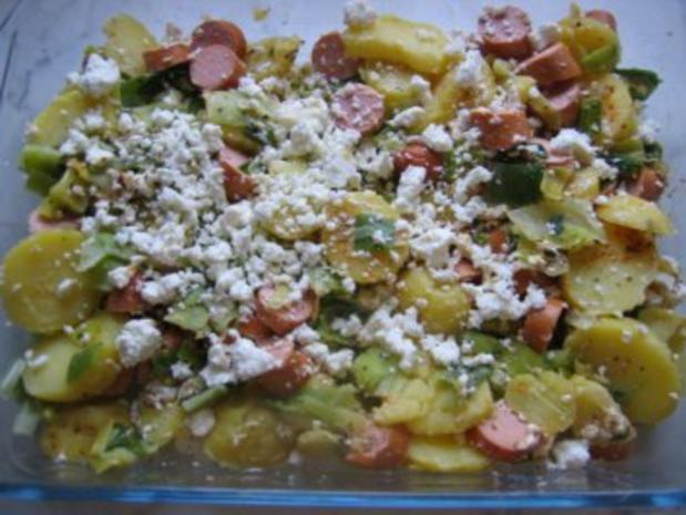 Kartoffelauflauf mit Feta - Rezept - Bild Nr. 2