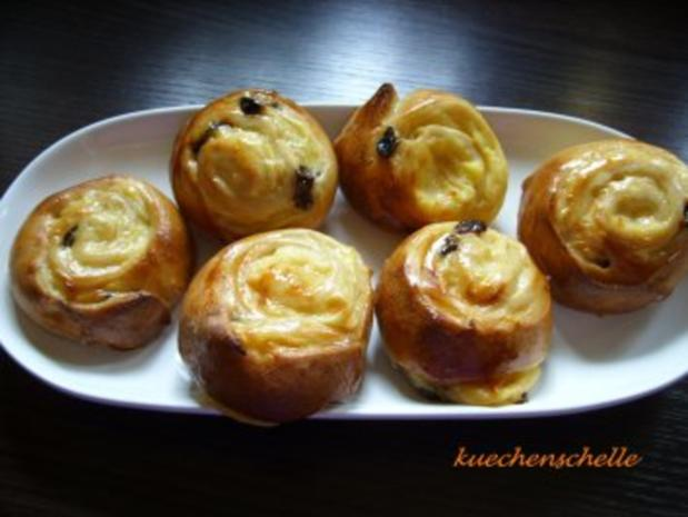 Puddingschnecken - Rezept