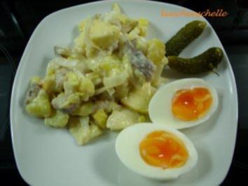 Kartoffel-Hering-Salat - Rezept