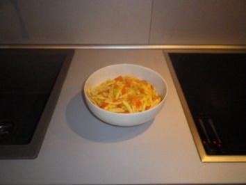 Nudeln in Gemüserahm - Sauce - Rezept