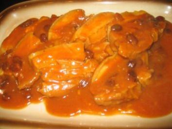 Fleisch: Sauerbraten mit Schweinebauch - Rezept