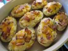 Doppelt gebackene Kartoffeln - Rezept