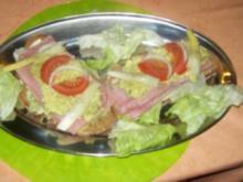 Irenes 6 Schichten- Abendbrot mit Spargel  süß- sauer - Rezept