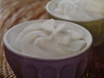 Weißes Schokoladenmousse mit Ahornsirup - Rezept