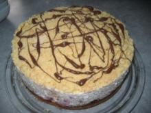 Stracciatella-Kirsch-Torte - Rezept