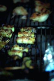 Auberginen-Hackfleisch-Röllchen - Rezept