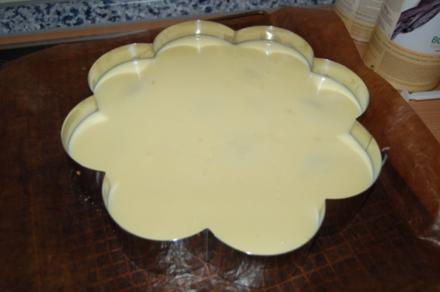 Apfel-Pudding-Torte - Rezept