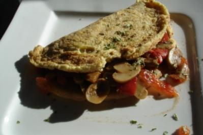 Pilz-Schaumomelett - Rezept