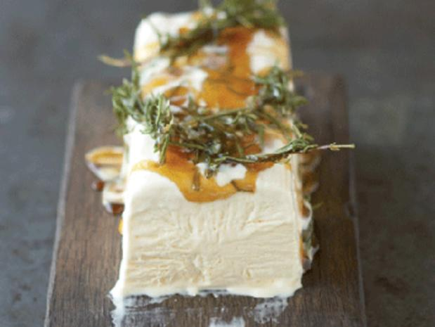 Honig-Rosmarin-Parfait (Halbgefrorenes) - Rezept