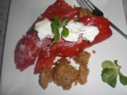 Rote Spitzpaprika mit Couscous - Rezept