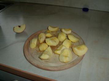 frischer Apfelsaft mit Zimt - Rezept