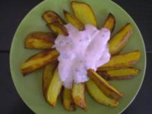 Wilde Kartoffeln mit Dip - Rezept