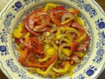 Paprika-Salat - Rezept