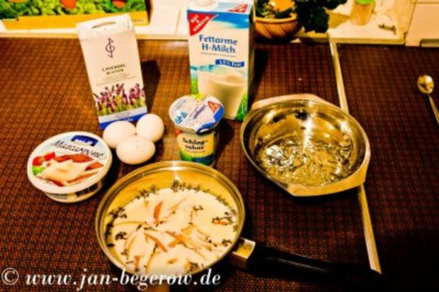 Lavendelcreme mit karamelliesierten Pflaumen - Rezept - Bild Nr. 3