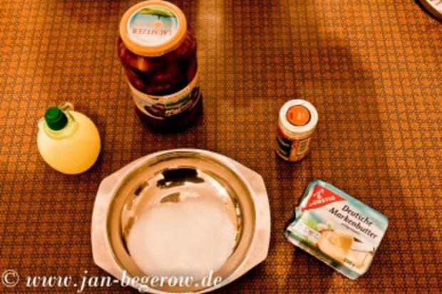 Lavendelcreme mit karamelliesierten Pflaumen - Rezept - Bild Nr. 4
