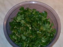 Salatsosse mit Hilfsmittel - Rezept